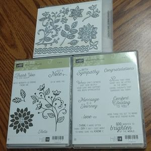 Stampin' Up Flourishing Phrases & Dies